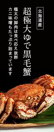 超極大『茹で黒毛蟹』