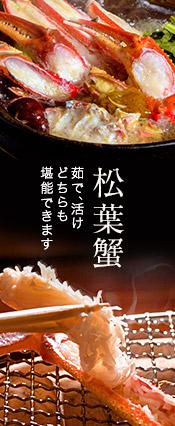 松葉ガニ&せこ蟹