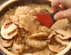 新米で味わう 松茸ご飯