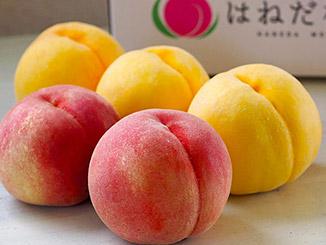 福島県産「羽根田さんの完熟大玉桃」の商品画像