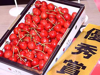 品評会「優秀賞」受賞!東根さくらんぼ「GI佐藤錦」の商品画像