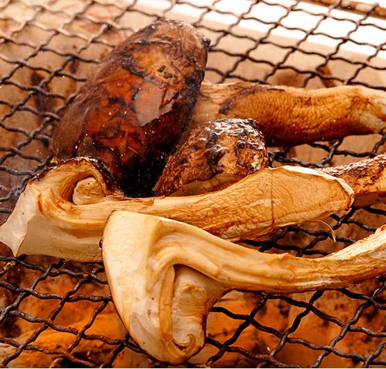 松茸料理レシピ「焼き松茸」