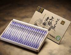 玉井製麺所 究極の極細麺 円熟の細古物素麺「天の川」1kg 木箱入