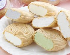 優しく、懐かしい味わいが魅力の「アイス最中」 夏のギフトに一押しです!