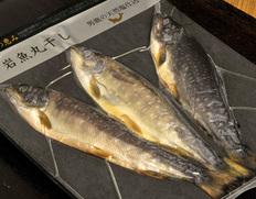 田沢湖トラウトファームの「岩魚(イワナ)丸干し」 3尾入り ※冷凍