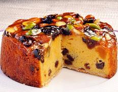 リュドラ・ポムの「ドライフルーツと木の実のケーキ 」 ※常温