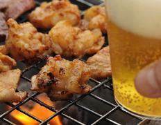【焼き肉用】古里精肉店特製 飛騨産黒毛和牛の「味付けミックス・ホルモン」約400g ※冷凍