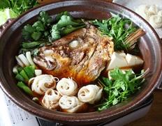 壱岐もの屋 平山旅館 壱州の伝統郷土料理「鯛そうめん鍋」(3〜4人前) ※冷蔵
