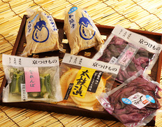 ギフトにも一押し!台所門おざきの夏の京漬物詰め合わせ 「京の夏ものがたり」