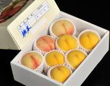 菱沼農園の『桃水&光月』 福島県産 約2kg(目安として6〜8玉)の商品画像