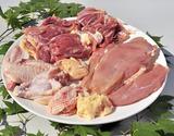 村越さんの『青森シャモロック』解体済 正肉(モモ・ムネ・ササミ)1羽分(1.2〜1.4kg) ※冷蔵の商品画像