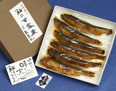 鮎の甘露煮 (約80g×6尾)
