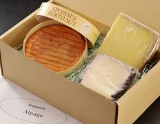 『赤ワインにおすすめの熟成チーズ3種セット』 贈答用 ※冷蔵
