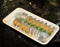 琵琶湖特産「ふな寿司」(ニゴロブナ メス)1尾スライス ※冷蔵