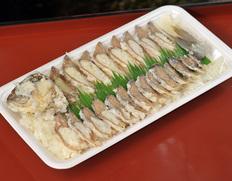 琵琶湖特産「ふな寿司」(ニゴロブナ オス)1尾スライス ※冷蔵