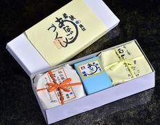 『穴子づくし3品(穴子味噌・茶漬・西京漬)』 ※冷蔵