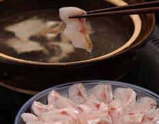 『のどぐろ しゃぶしゃぶ鍋(しゃぶしゃぶ用刺身、出汁付)』日本海産 (2〜3人前) ※冷凍