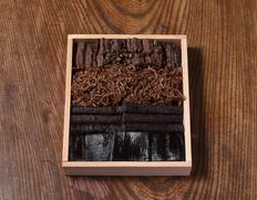 清左衛門『贅沢茶漬』杉箱2号(贈答用)210g 穴子、牛蒡、昆布、ちりめん