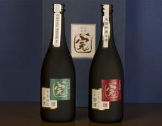 『完がこい古酒セット 25度(全麹仕込み・玄米仕込み)』720ml各1本 ※常温