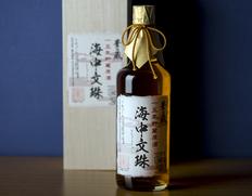 15年貯蔵古酒原酒『海中文珠 43度』720ml 木箱入り ※常温