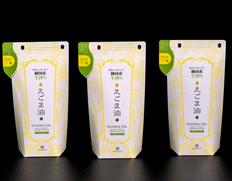 【定期購入】富山県産『生搾り えごま油PREMIUM』 110g×3Pセット