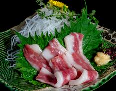 【熊本県肥育馬肉】『ふたえご(アバラ)』 約200g ※冷凍