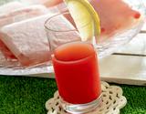 尾花沢スイカジュース(果汁100%) 100g×15袋[酸化防止剤無添加] ※冷凍の商品画像