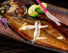 昭和初期より愛され続けている魚辻の人気商品「越前がれい(アカガレイ)の一汐」