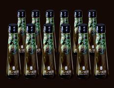 無ろ過・生搾り『茶ノ実油 GOLD TEA OIL』 静岡県産 92g(105ml)×12本セット