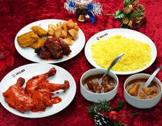 銀座デリーが演出する「クリスマスディナー」をご自宅で!