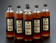 【まとめ買い】黒酢希釈用飲料 [内臓脂肪を減少させる機能性表示食品] 900ml×6本 メロディアン