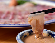 青森県 風間浦あんこう 刺身と鍋