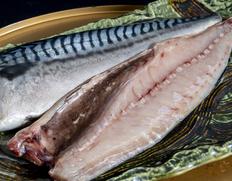 「越田商店 鯖の文化干し(ノルウェー鯖使用)」 大サイズ(約200g)3枚セット ※冷凍