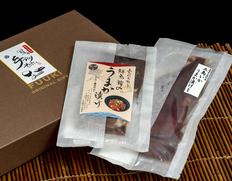 五島列島 うまか漬けセット(烏賊  (約100gx1杯)、鮮魚(約75gx2)x2パック) 化粧箱入 ※冷凍