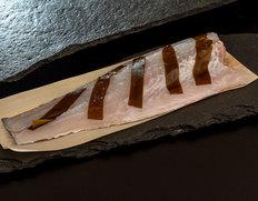 『鱸(すずき)の藻塩氷温熟成 』皮付き半身 ※冷蔵