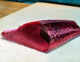 """【お試し】『天然""""生""""マグロ』 腹側ブロック 約1kg(本マグロ以外も含む)※冷蔵【豊洲市場直送】の商品画像"""