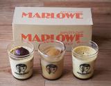 マーロウの秋の夜長プリン3種セット(栗、葉山ボーロ、紅はるか) ※冷蔵の商品画像