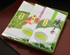 植田製茶直営茶園の「最高級煎茶と芽茶と幻の棒茶」セット