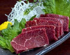 【熊本県肥育馬肉】『特選馬刺し』 約200g ※冷凍